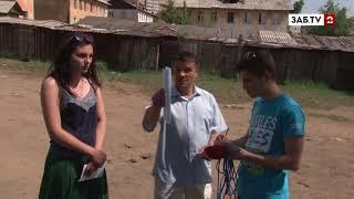 Двор жилого дома на Александро-Заводской, 13 превратился в газовую камеру