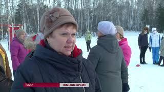 """На лыжной базе """"Метелица"""" прошёл забег на снегоступах"""