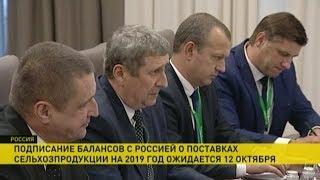 Беларусь и Россия договорились о поставках нефтепродуктов на 2019 год