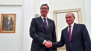 Вучич попросил у Путина помощи с Косовом