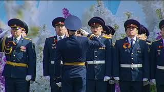 Парад Победы на Советской площади Ярославля  9 мая 2018 года