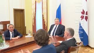 Встреча Владимира Волкова и Александра Чуприяна.