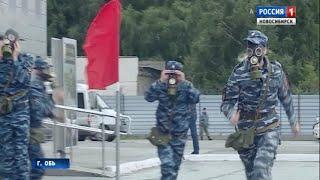 Транспортные полицейские со всей России борются за звание лучшей команды страны