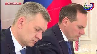 Врио Главы Дагестана Владимир Васильев  провел заседание Совета Безопасности республики