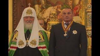 Воздастся сторицей. Патриарх Кирилл наградил руководителей ЮСИ