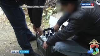 В МВД подвели итоги операции «Алкоголь»