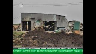 Пожар на полигоне в Полетаево привлек внимание правоохранителей
