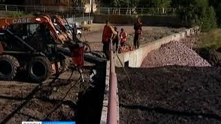 В Красноярске до конца года отремонтируют около 40 подпорных стен