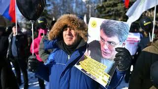 Акция памяти Бориса Немцова прошла уже в нескольких российских городах