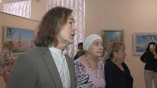 Журналисты первыми увидели выставку Никаса Сафронова