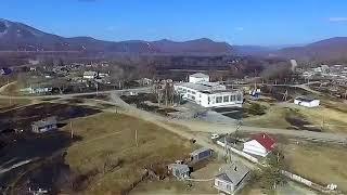 Сгоревшее село Зеркальное сняли с высоты