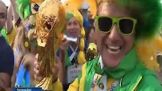 Бразилия, Уругвай, Мексика: фан-зона Ростова притягивает все больше болельщиков