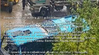 Возросло число жертв ДТП в Болгарии