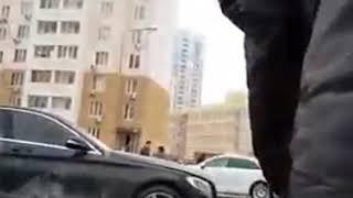 Взорвали мерседес на Левенцовке 7.3.2018 Ростов-на-Дону Главный