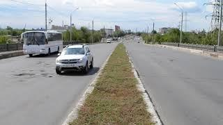 В сторону движения из центра Оренбурга