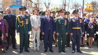 В районах республики отметили День Победы.