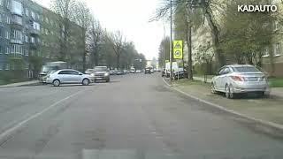 ДТП на Нарвской в Калининграде. 18.04.18