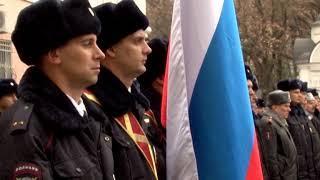 На Аллее Мужества установили бюсты погибшим в Чечне полицейским