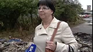 Ярославцы вынуждены мокнуть под дождем в ожидании транспорта