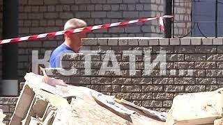 Спасение спасателей - в здании МЧС в Дзержинске рухнула стена