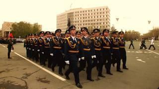 Генеральная репетиция парада Победы. Оренбург. 2018 г.