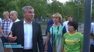 Николай Панков проверил ход строительства Госархива