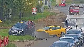 ДТП Ленинградский/Волгоградская. 02.10.18.