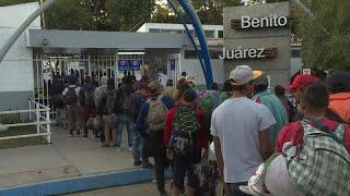 Тихуана: число мигрантов растет