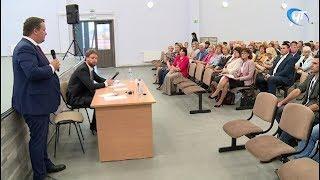 Тема благоустройства стала главной на встрече Андрея Никитина с жителями Псковского микрорайона