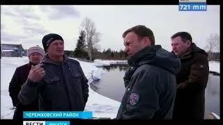 Лесовоз «раздавил» единственный в селе мост в Черемховском районе