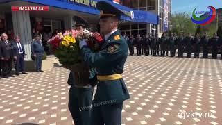 В Махачкале почтили память сотрудников МЧС, погибших при исполнении служебных обязанностей