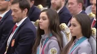 Воспитанник омского хоккея Сергей Калинин получил из рук президента России орден Дружбы