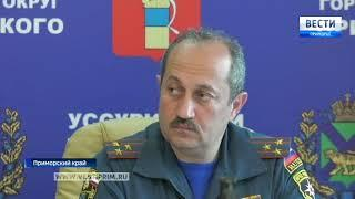 Глава Приморья Андрей Тарасенко посетил пострадавшие от августовского наводнения районы