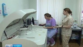 Новое оборудование в роддоме Магадана