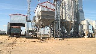 В Алексеевском районе открылся современный зерносушильный комплекс