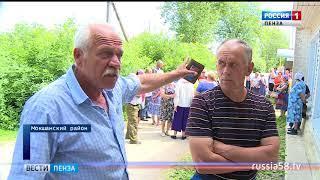 Жители пензенского села в жаркую погоду остались без воды