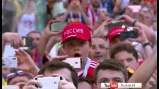 Челябинск ликует  Эмоции зашкаливают  Как в столице Южного Урала отпраздновали победу над Испанией