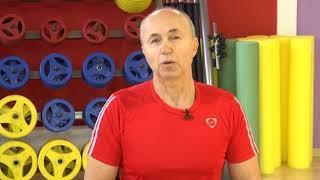 """Утренняя гимнастика телеканала """"Белгород24"""" с Борисом Миняйло"""