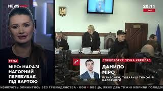 Миро: Тимофей Нагорный сейчас пребывает под стражей 05.11.18