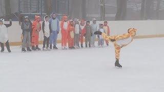 В ставропольском парке Победы открыли сезон зимних забав