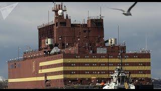 Usina Nuclear Flutuante Russa Chega a Murmansk Para Cumprir Sua Missão Final