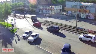 ДТП Бийск на перекрестке ул Васильева - Липового 5.07.2018