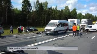 Серьезное ДТП под Переславлем: столкнулись две иномарки