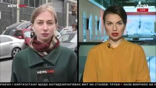 Корреспондент NEWSONE рассказала о ситуации на бульваре Леси Украинки после масштабного ДТП 23.10.18