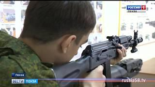 Бойцы пензенского лагеря «Гвардеец» познакомились с вооружением российской армии