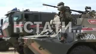 Военная полиция со всей России собралась в Мулино - там проходят масштабные учения
