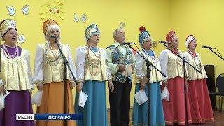 Вологодские пенсионеры сразились в «Поединках хоров»