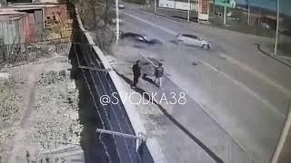 В Иркутске произошло ДТП по улице Мира