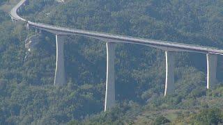 Самый высокий мост Италии ненадёжен
