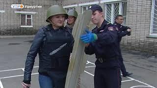 Один день в полиции в рамках акции «Журналист меняет профессию»